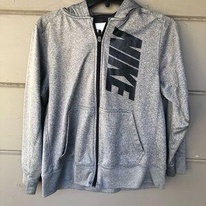 Boys size large Nike hoodie zip up sweater